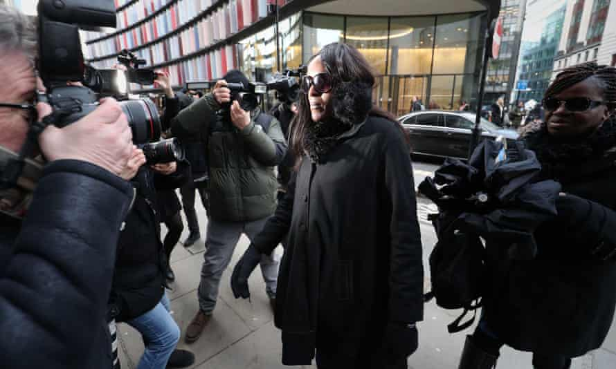 Fiona Onasanya arrives at the Old Bailey in London for sentencing