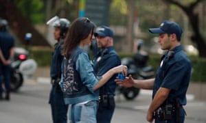 Kendall Jenner in Pepsi's ill-fated advert.