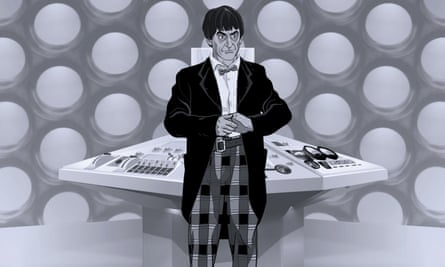 Animated Patrick Troughton as Doctor Who