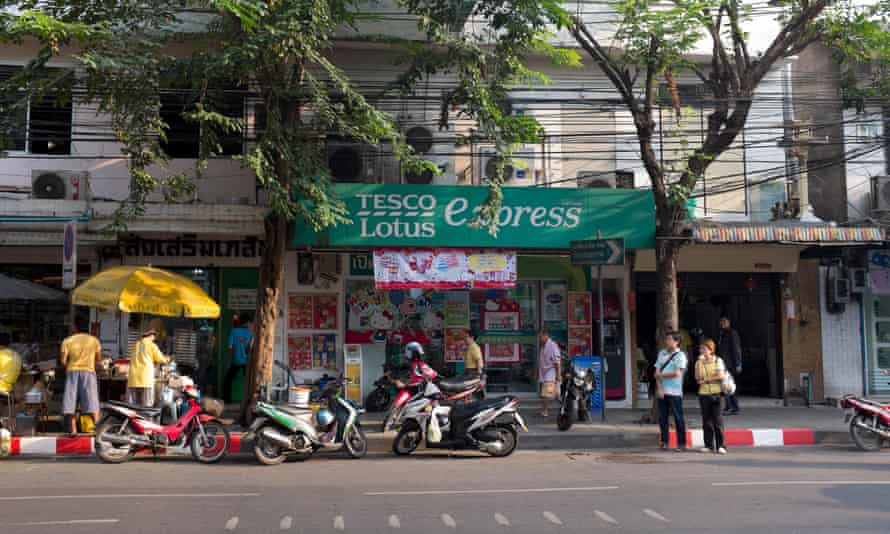 A Tesco Lotus outlet in Bangkok's Chinatown.
