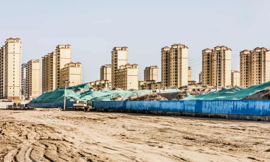 Les Avenirs de Lanzhou - Histoire d'Urbanisation dans le Nord-Ouest chinoisLanzhou New Area.