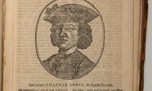 Hannah Snell, who went by the name James Gray.