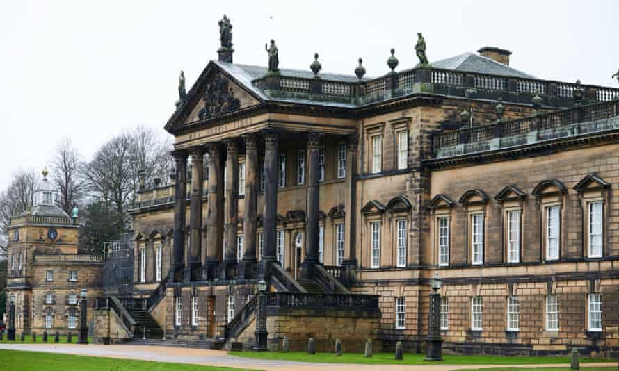 The east facade of Wentworth Woodhouse