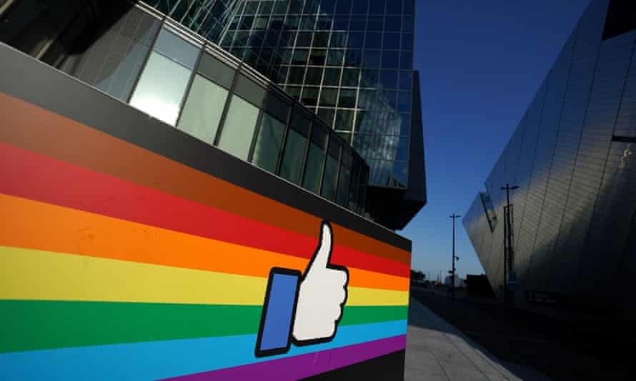 Facebook headquarters in Dublin.