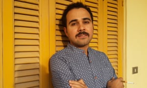 'I'm not a writer with a message' … Ahmed Naji.