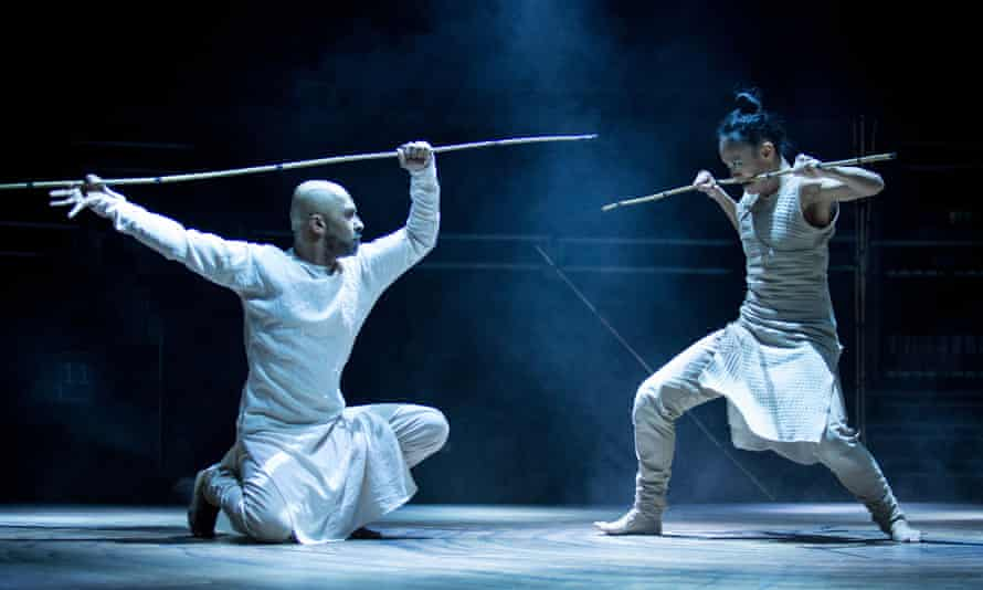 Akram Khan and Ching-Ying Chien in Khan's Until the Lions at the Roundhouse.