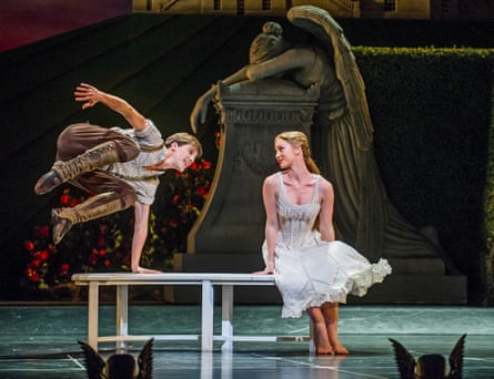 Dominic North (Leo) and Ashley Shaw (Aurora) in Sleeping Beauty by Matthew Bourne at Sadler's Wells in 2015.