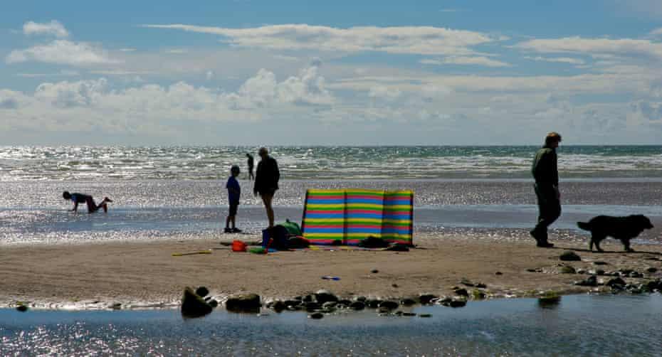 The beach near Silecroft.