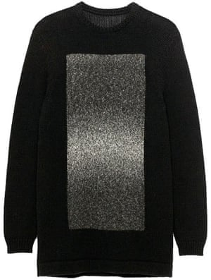 Black jumper from Zara