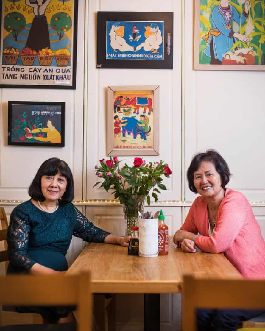 Van Le and Van Tran Front of house at Hanoi Cafe for 18 years Long Service: London IG: @longservicelondon