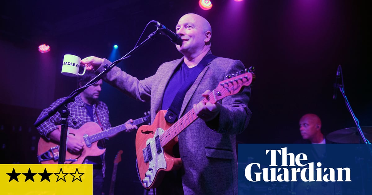 The Boo Radleys review – boisterous comeback gives a glimpse of greatness