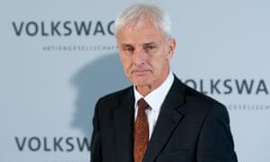 Volkswagen chief executive Matthias Müller