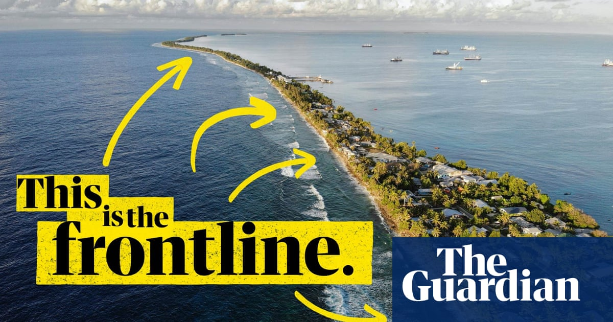 'One of the greatest injustices': Pacific islands on the frontline of the climate crisis – video