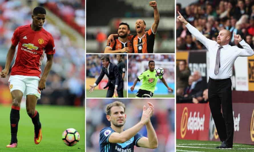 Marcus Rashford has not yet featured for Manchester United; Robert Snodgrass has shone for Hull; Walter Mazzarri's first home game in charge of Watford was a defeat; Callum Wilson needs time; Christhian Stuani kept up his fine record; and Sean Dyche is intent on signing players.