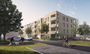Auckland Rise, in Upper Norwood, by HTA architects