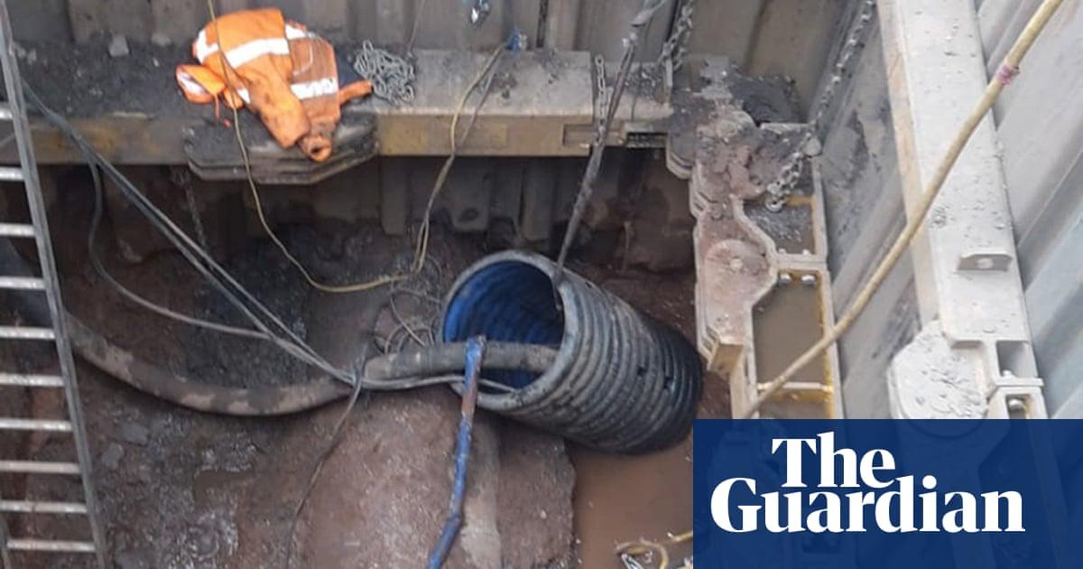 'Monster' fatberg blocks Birmingham sewer