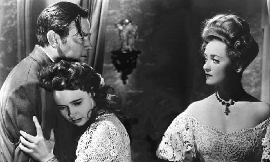 Bette Davis in The Little Foxes, with Herbert Marshall and Teresa Wright