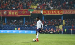 Danny Rose was among those England players racially abused during the Euro 2020 qualifier in Montenegro