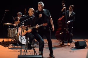Jimmy Barnes performs with Diesel