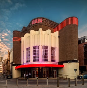 Leicester Odeon cinema building.