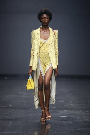Lisa Folawiyo'The collection we want to live in all season long. I'm obsessed with mix and match, with textures and playing with lengths. The Lisa Folawiyo army will certainly be having loads of dress up fun come next season.'