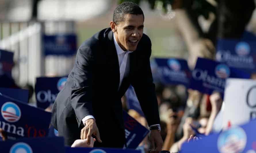 Barack Obama in 2007.
