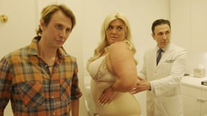Gemma Collins visits a doctor with Jonathan Cheban (left) for her show Gemma Collins: Diva Forever