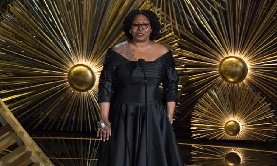 88th Annual Academy Awards, Show, Los Angeles, America   28 Feb 2016<br>EDITORIAL USE ONLY. NO BOOK PUBLISHING WITHOUT PRIOR APPROVAL Mandatory Credit: Photo by Mandatory Credit A.M.P.A.S/REX/Shutterstock (5600270ka) A.M.P.A.S. Presenter Whoopi Goldberg onstage during the live ABC Telecast of The 88th Oscars® at the Dolby® Theatre 88th Annual Academy Awards, Show, Los Angeles, America   28 Feb 2016