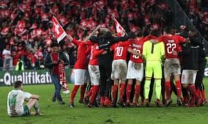 Joy for Switzerland; agony for Northern Ireland.