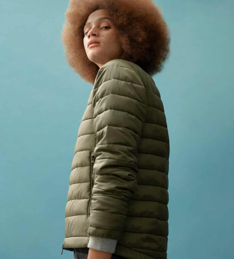 ReNew by Everlane: a collection of outerwear and fleece made entirely from recycled plastic bottles.