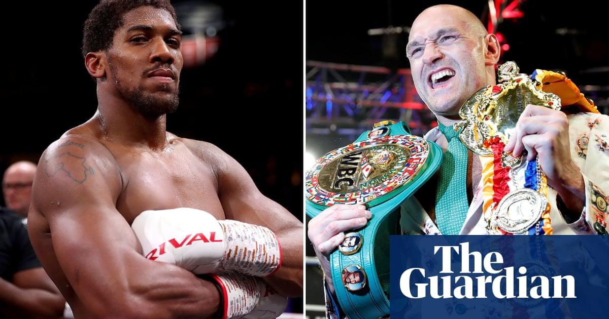'No reason' Joshua v Fury fight in Saudi Arabia won't be finalised this week