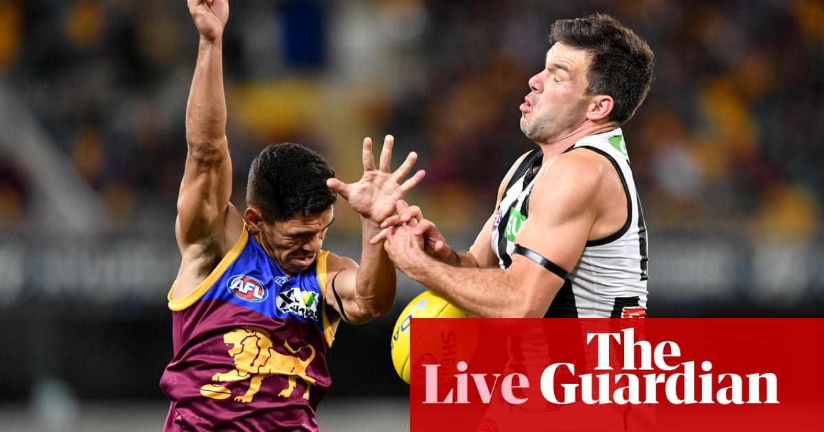 AFL 2020 round 15: Brisbane beat Collingwood – as it happened – The Guardian