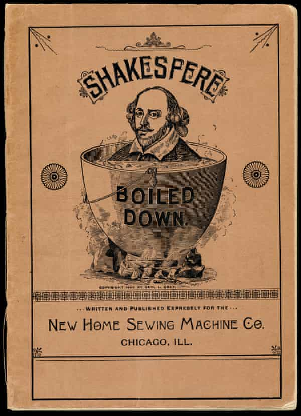 shakespeare in advertising sewing machine