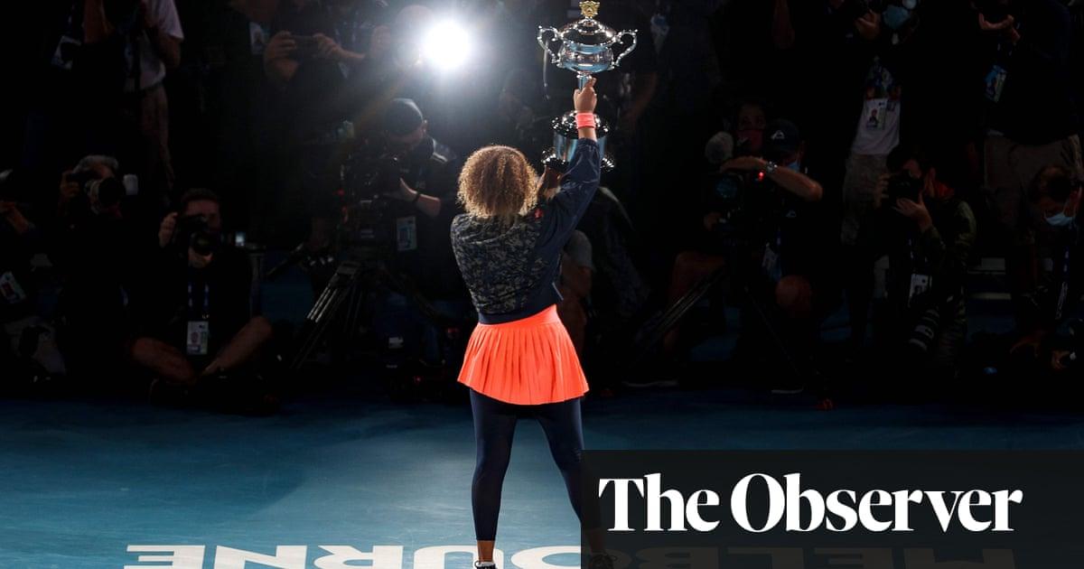 Naomi Osaka overpowers Jennifer Brady to win second Australian Open