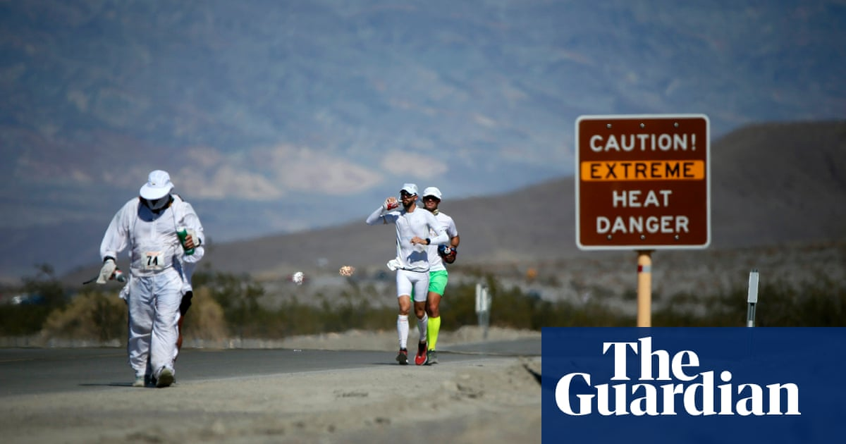 'There's magic in misery': ultramarathon runners cross Death Valley – in a drought