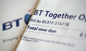 A BT bill.