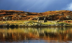 Isle of Lewis in the Outer Hebrides, Scotland.