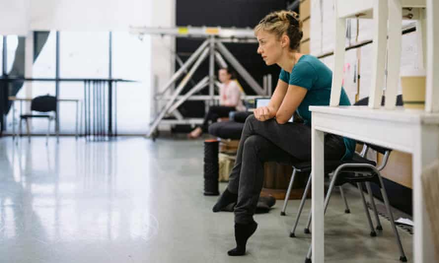 Cathy Marston during rehearsals for Victoria.
