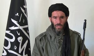 Mokhtar Belmokhtar in a video released in January 2013.