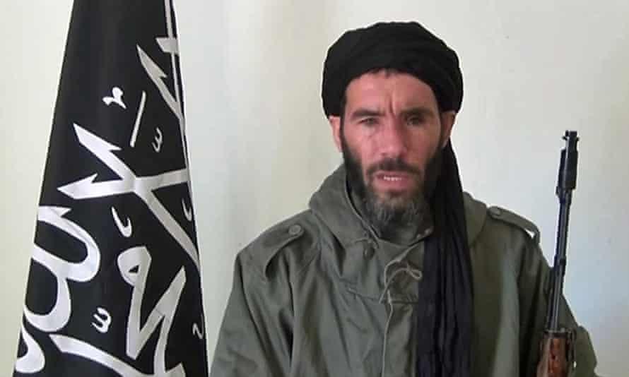 Mokhtar Belmokhtar in a video released in January 2013.