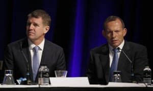 Mike Baird and Tony Abbott