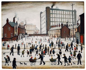 LS Lowry's The Mill, Pendlebury.