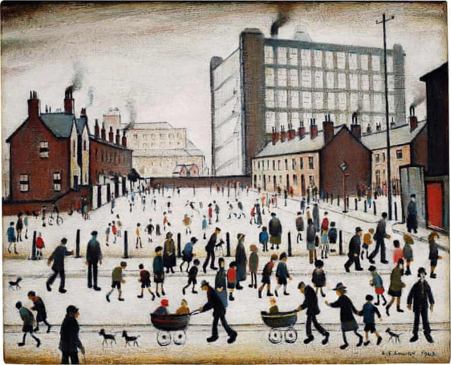 The Mill, Pendlebury, by LS Lowry