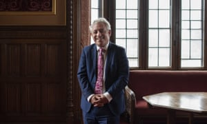 John Bercow at the House of Commons