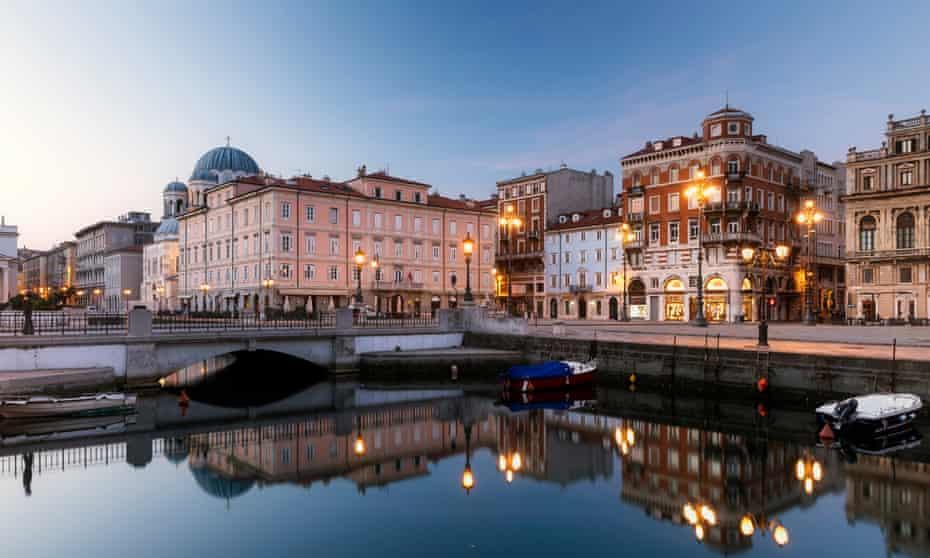 Canale Grande, Trieste.