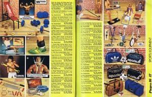 Argos sports equipment from 1981