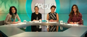 From left: Maryam Imani, Tina Ghazimorad, Azadeh Shafiee and Darya Safai - Samte No