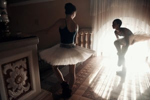 Young dancer of the Donetsk ballet