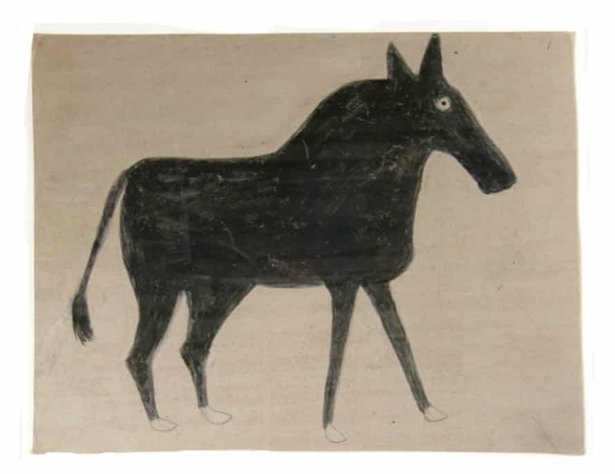 Bill Traylor's Young Mule, c 1939-1942