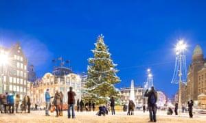 Amsterdam Christmas Tree